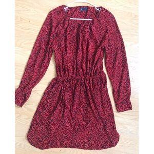 GAP Red Print Dress
