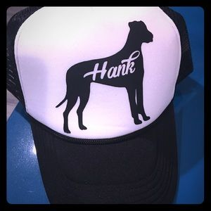 Accessories - Custom Dog Silhouette Trucker Hat