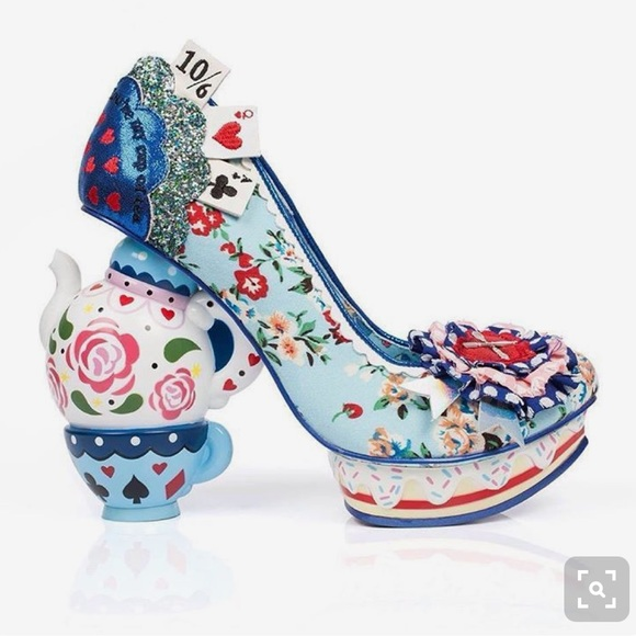 cafe29d7fc6 ISO Irregular Choice One Lump or Two Heel size 39