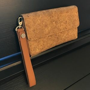 Jewell by Thirty-One Cork Wrist Wallet