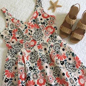 Maison Jules Floral Knit Dress