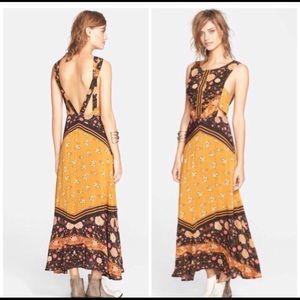 Free people sunrise oblivion dress