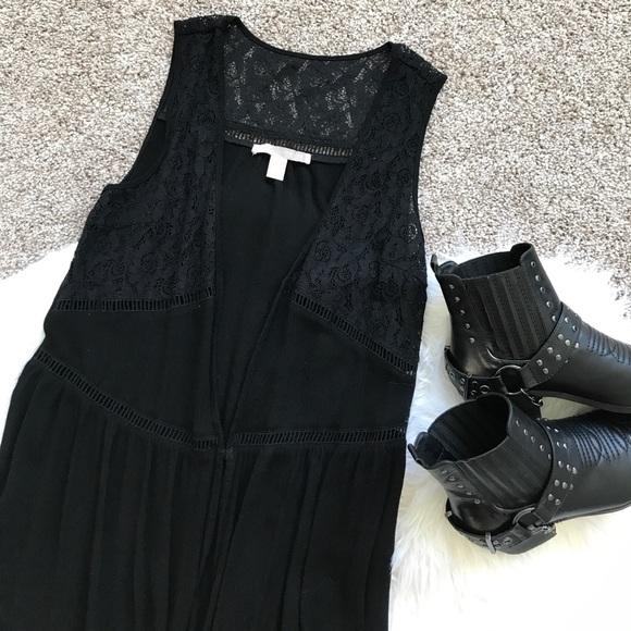 Forever 21 Tops - Black Maxi Vest