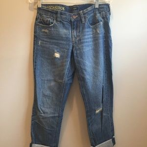 J. Crew Matchstick Distressed Jeans