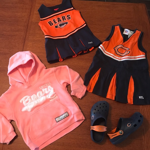 the latest f087d e43d5 Girls 24 month & 4T Chicago bears clothing & Crocs