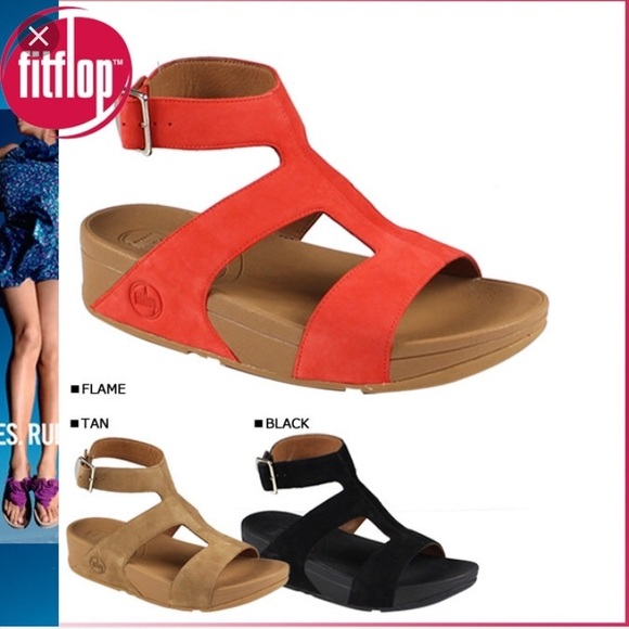 29e17015cdd Fitflop Shoes - Black Fitflop ankle sandal