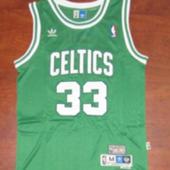 Hardwood Classic 1985-86 Celtics Larry Bird jersey