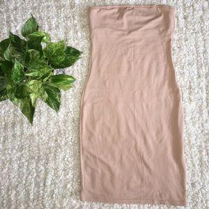 758d47cc48811 vassarette Intimates   Sleepwear - Vassarette • Tan bodycon shapewear