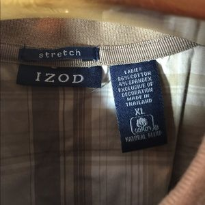 Izod Tops - SALE 2 for $10 Bundle Collard knit shirt by Izod