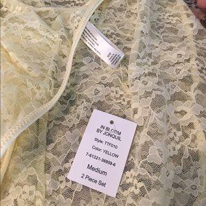 Women's Clothing Nwt Papinelle Pyjama Pant Size S Blue & White Stripes
