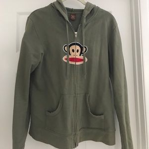 Paul Frank zip up hoodie