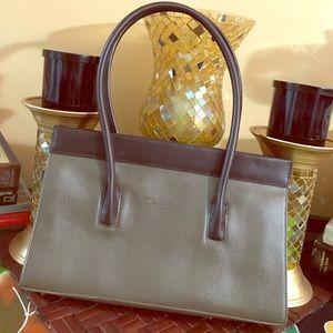 Cleo & Patek PARIS hand bag  Brown and Olive