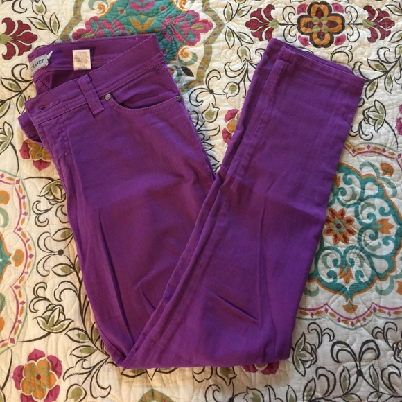 Nine Planet Denim - Fun purple stretchy jeans