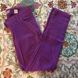 Nine Planet Jeans - Fun purple stretchy jeans