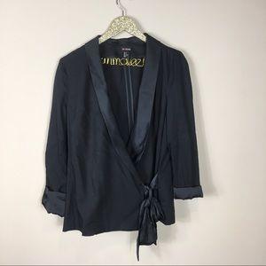 H&M Conscious Collection Side Tie Cardigan Blazer