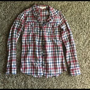 Flannel button up