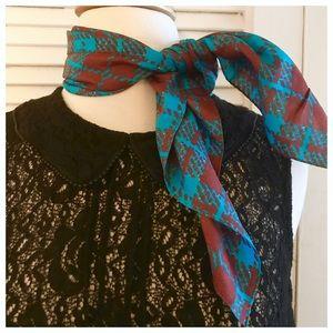 Ray Strauss Vintage Silk Scarf!!! 1970's