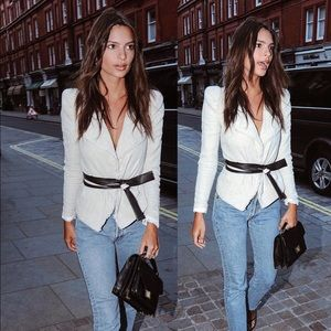 7583e44967c Zara Jackets & Coats | Jacket As Seen On Emily Ratajkowski | Poshmark