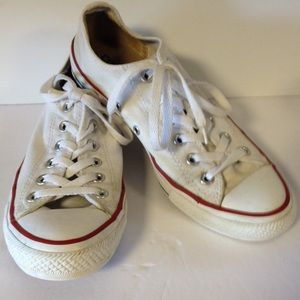 Converse all star sneakers tennis shoes white