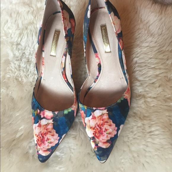 louise et cie Shoes - Louise et Cie Floral Pumps
