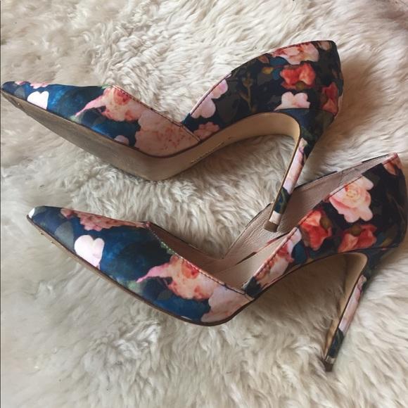 louise et cie Shoes - Louise et Cie Floral Pumps