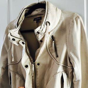 Authentic Bebe Faux Leather Biker Jacket!
