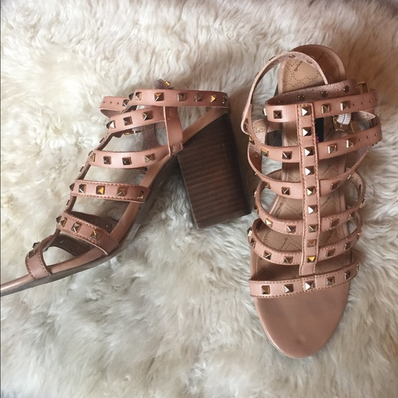 Betseyville Shoes - Studded gladiator sandals