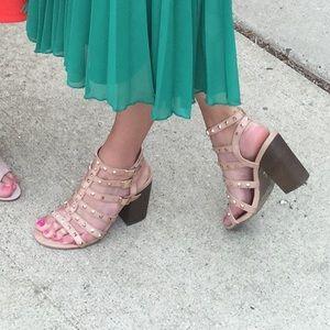 Betseyville Shoes - Studded gladiator sandals