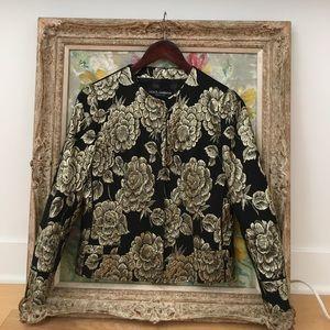 Dolce&gabbana silk jacket