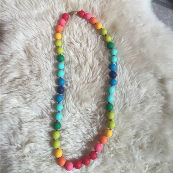Chewbeads Jewelry - Chewbeads rainbow necklace