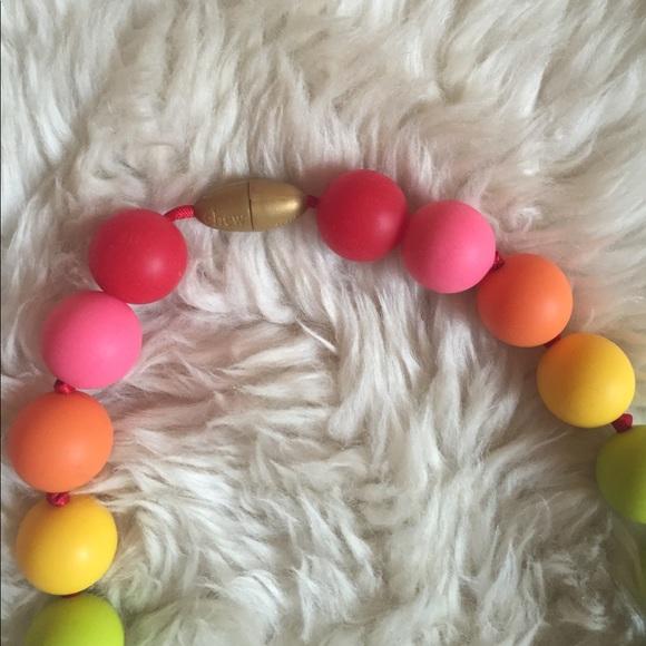 Chewbeads Jewelry - Chewbeads rainbow necklace