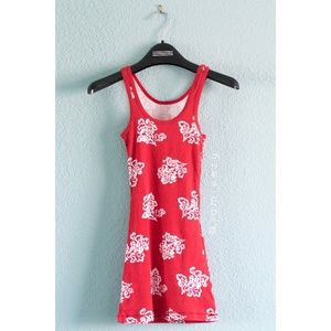 Mossimo Supply Co. | Floral Printed Rib Tank