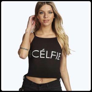 Tops - ✨🆕 TRENDY HASHTAG # CE'LFIE TOP✨