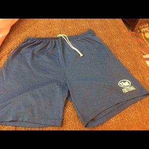 Other - Blue UM Football Athletic Shorts