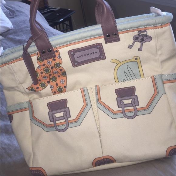 Levenger canvas handbag de37b963dea6d