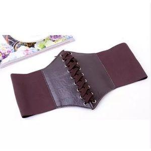 Accessories - Brown Steampunk Corset Belt New 🍀