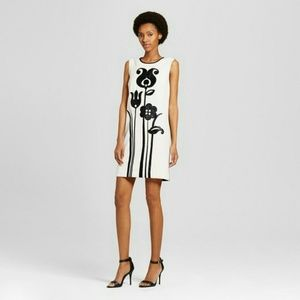 Victoria Beckham for Target Dresses - Mod graphic 60s inspired shift dress