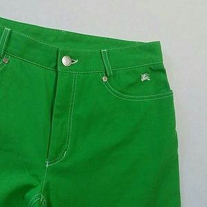 Burberry london green pants