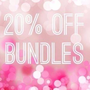 20% off bundles of 3 or more items