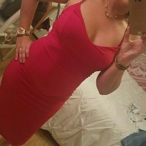 Red Boohoo DRESS 😍😍😍