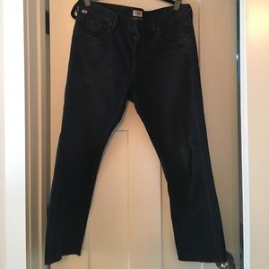 NWOT Citizen of Humanity Deconstructed Jeans,sz 28