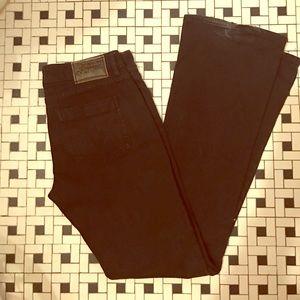 Black Volcom Jeans, size 7