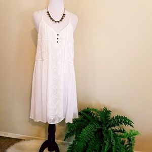 Women\'s White Maurices Lace Dress on Poshmark