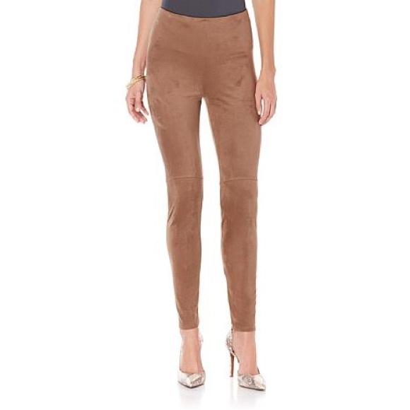 74e8a114d22 Lysse Pants - Lysse High Waist Faux Suede Leggings - Size XL