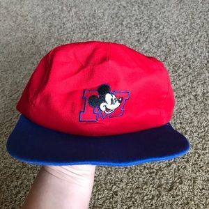Other - Mickey Mouse Vintage Flat bill hat