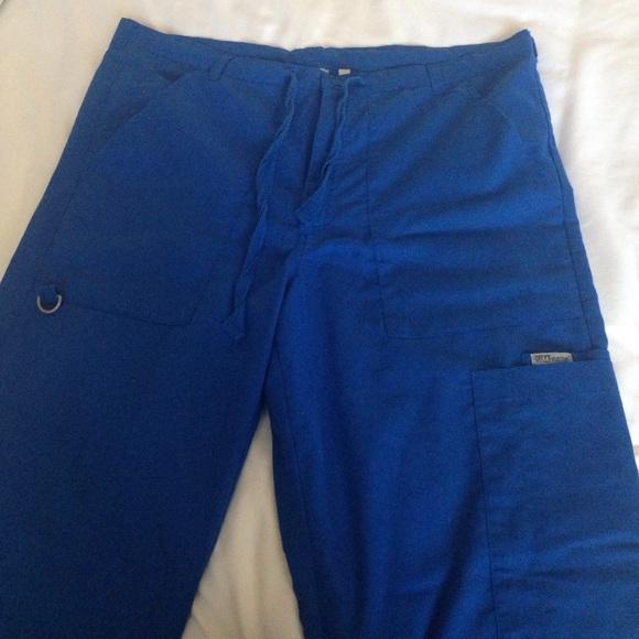 c555a680bc0 greys anatomy Other - GREYS ANATOMY men's medium tall scrub pants blue