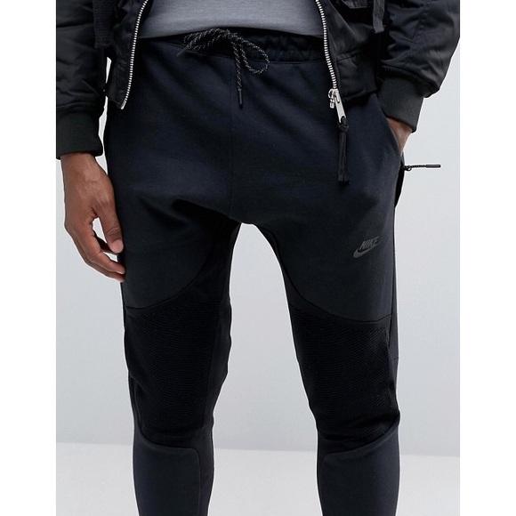 bf71b87e25a2 Nike Tech Fleece + Tech Knit Panel Joggers