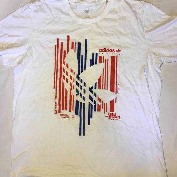 9fec95580615 adidas Shirts | Dope White Original Tshirt Size Xl | Poshmark