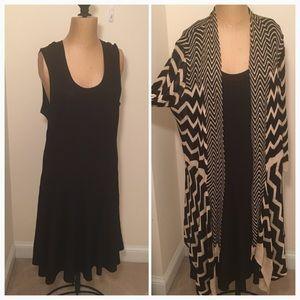 Nic & Zoe; 2 piece dress set (Nordstroms)