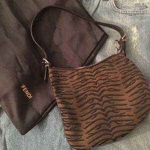 9f9f36854483 Fendi Bags - FENDI Med Animal print shoulder bag